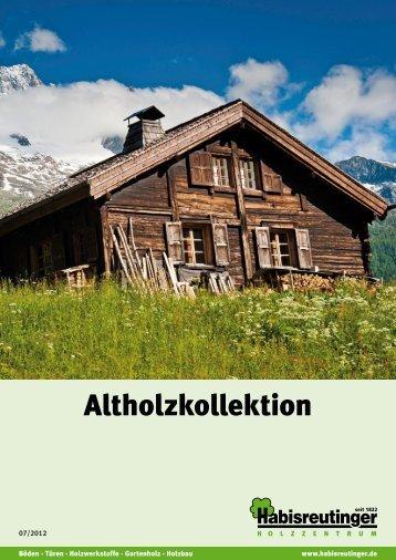 Altholzkatalog - Frank Kolb