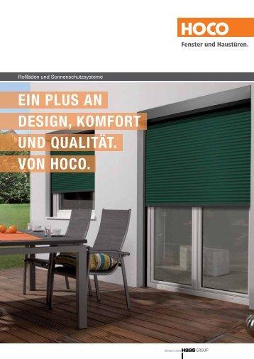 Ein Plus an DEsign, Komfort unD Qualität. Von HoCo. - Hoco - Fenster