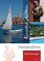 Fremdenführer - Turistička zajednica grada Rovinja