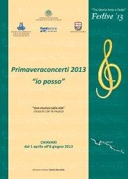 Libretto di sala - Filarmonica di Chiavari - WordPress.com