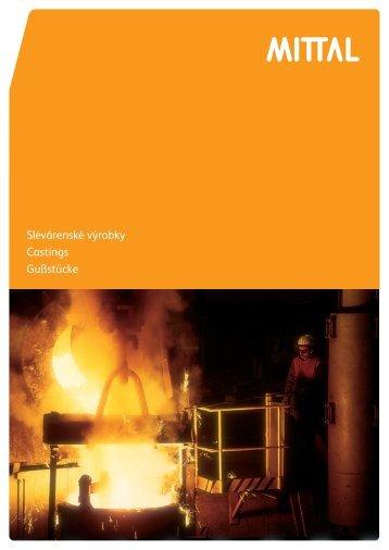 Slévárenské výrobky Castings Gußstücke - ArcelorMittal
