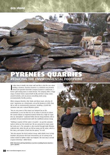 PYRENEES QUARRIES - Infotile