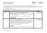 ProgrammHier finden Sie das detaillierte Programm mit allen ... - MGM