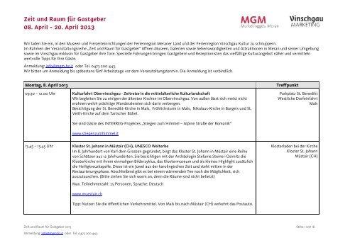 Mgm Programm