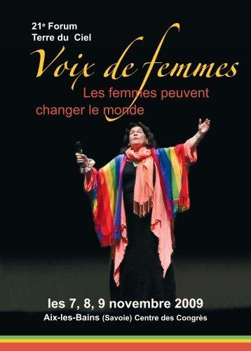 Voix de Femmes - Les Invités au Festin