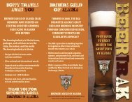 Download the 2013 Brewers Guild of Alaska Tri ... - Arkose Brewery