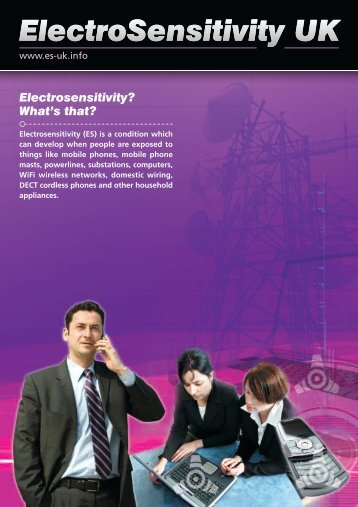 ElectroSensitivity Factsheet - Olga's Rainbow Services