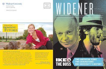 Spring 2013 - Widener University