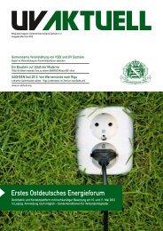 Erstes Ostdeutsches Energieforum - Unternehmerverband Sachsen ...
