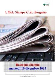 martedì 10 dicembre 2013 - FIM-CISL Bergamo
