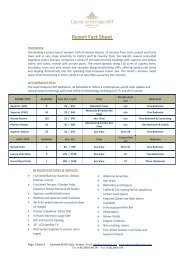 Resort Fact Sheet - Hotel Grand Mediterraneo Resort & Spa, Corfu