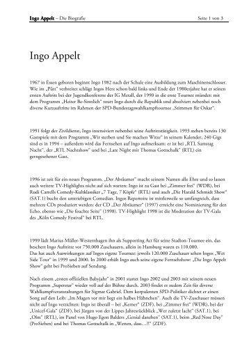download lebenslauf flietext als pdf datei appelt ingo - Lebenslauf Fliestext