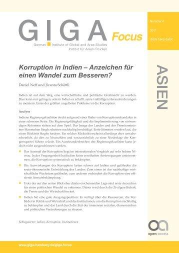 Korruption in Indien – Anzeichen für einen Wandel zum Besseren?