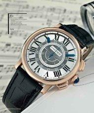 close up cartier rotonde de cartier central chronograph