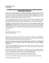 Botschaft Nr. 198 9. Juli 2013 Tut Buße und bereut ... - Gottes Warnung
