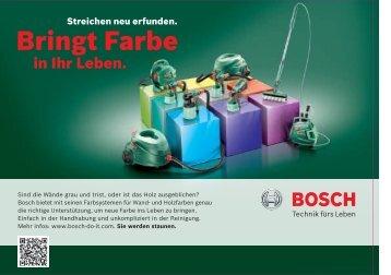 Bringt Farbe - Bosch Wallpaint