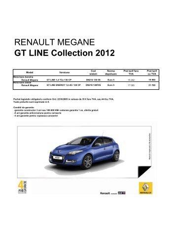 GT LINE Collection 2012 - AUTO MOLDOVA