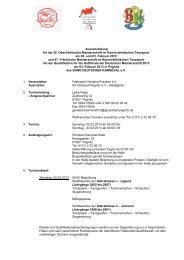 Ausschreibung - SV Glückauf Pegnitz