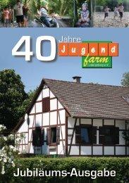 Die Festschrift als Download - Jugendfarm Ludwigsburg eV