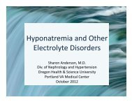 Pearls in the Management of Hyponatremia and Other Electrolyte ...