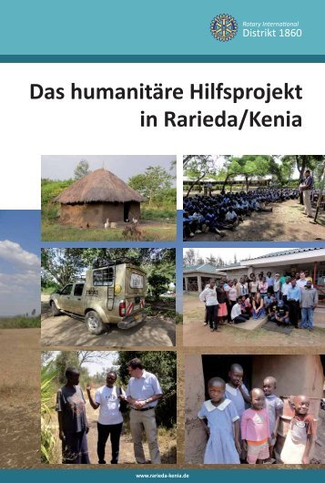 Wer ist Rotary? - Das humanitäre Hilfsprojekt in Rarieda/Kenia