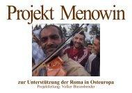 Flyer Projekt Menowin - Acacia Verein