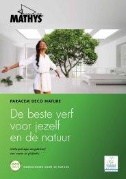 De beste verf voor jezelf en de natuur - Martin Mathys s.a.