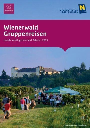 Gruppenangebote 2013 - Baden bei Wien