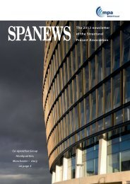 The 2013 newsletter of the Structural Precast Association SPANewS