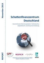 Schattenfinanzzentrum Deutschland - Weed