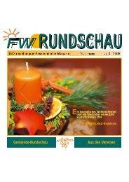 Gemeinde-Rundschau Aus den Vereinen - Freie Wähler Landkreis ...
