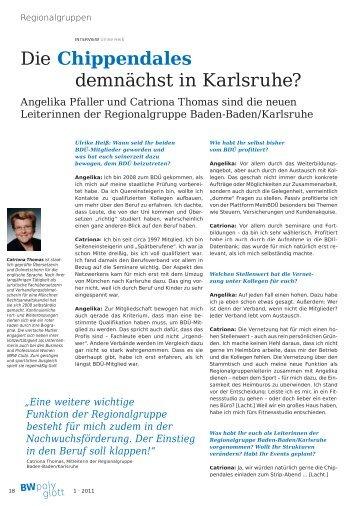 Die Chippendales demnächst in Karlsruhe? - Angelika Pfaller