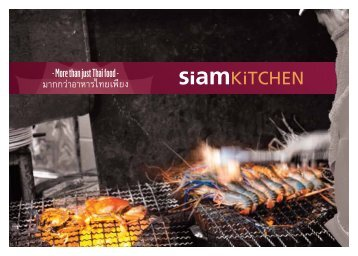 Check out our full menu - Siam Kitchen