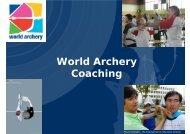World Archery Coaching