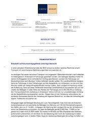 Newsletter März / April 2008 - Fachanwalt-transportrecht-schleswig ...