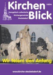 Kirchenblick online - Ev.-Luth. Kirchengemeinde Stockelsdorf