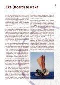 KUPE WAKA CENTRE - Dialogue - Page 3