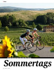 Mit dem Rennrad durch das grüne Herz Italiens - ALPStours