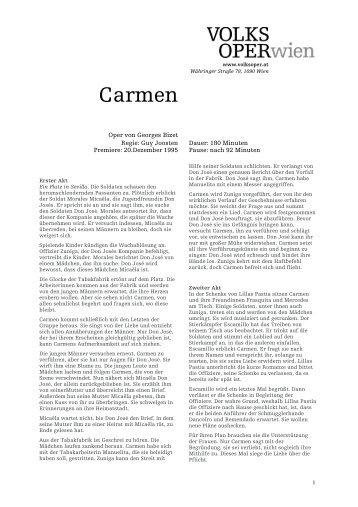Carmen - Volksoper Wien