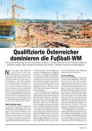 Qualifizierte Österreicher dominieren die Fußball-WM - Sattler AG