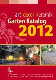 Keramikscheune+Gartenkatalog+2012_PRINT. - Art-Decor Keramik