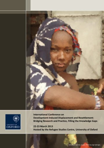 Conference programme - Refugee Studies Centre - University of ...
