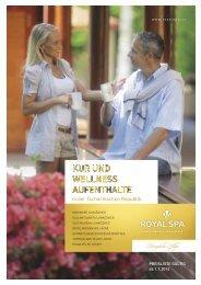 Katalog Royal Spa 2014 - Termální lázně Velké Losiny