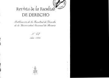 Nº 12 - Año 1996 - Facultad de Derecho - Universidad Nacional de ...