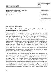 Pressemitteilung herunterladen (pdf - 162 KB) - Energieagentur ...