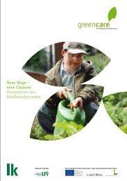 Neue Wege – neue Chancen Perspektiven säen ... - Green Care