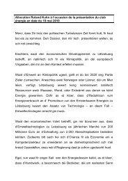 Allocution Roland Kuhn à l'occasion de la présentation du club ...