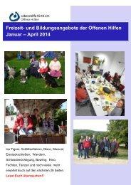 Freizeit- und Bildungsangebote der Offenen ... - Lebenshilfe Fürth