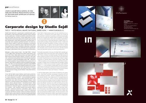 Corporate design by Studio Šejdl - design in