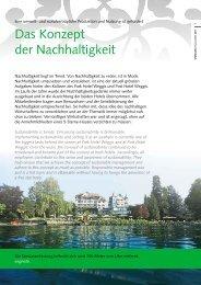 Unser Nachhaltigkeitsbeitrag - Park Weggis